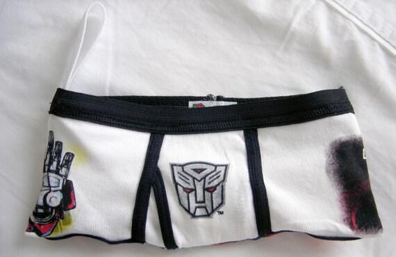 Transformers Optimus Prime Boy Brief Wrist Clutch