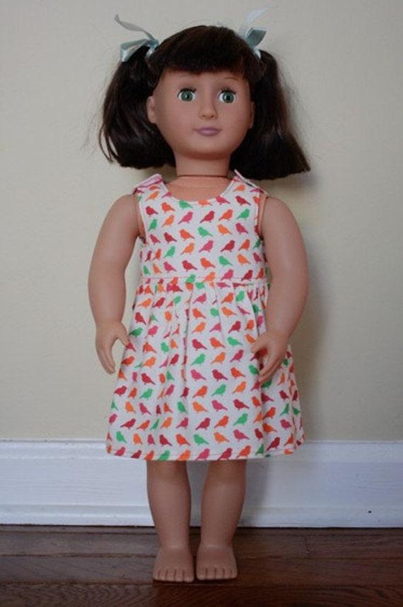 Dolly Girl Doll Dreamy: Dress Sewing Pattern