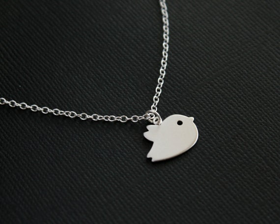 Bird necklace silver bird jewelry mothers day gifts new for Same day jewelry repair