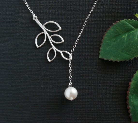 Wedding jewelry, Pearl necklace, Bridesmaid gifts, Bridal shower ...