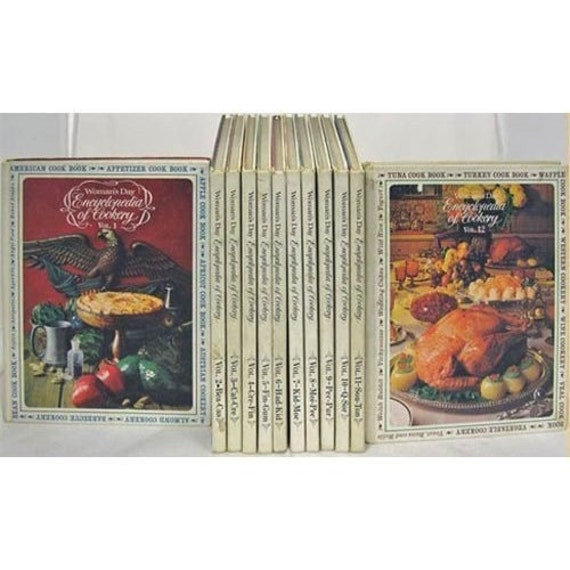 Woman's Day Encyclopedia of Cookery - 1966 (Complete Set of 12)