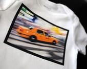 New York City Taxi Cab Onesie
