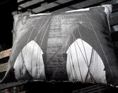 Brooklyn Bridge NYC Pillow
