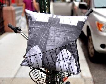 Brooklyn Bridge NYC Pillow  no2