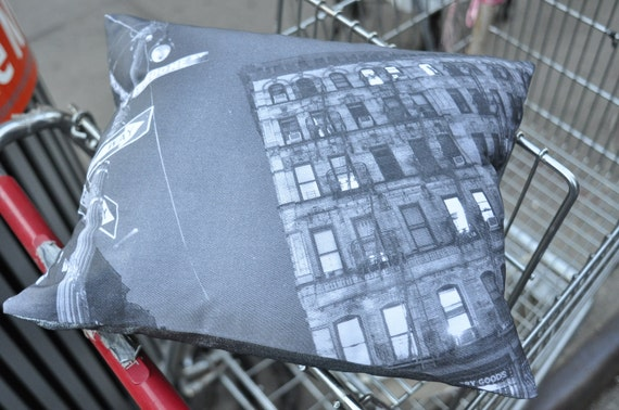 New York City's Iconic Lower East Side Pillow
