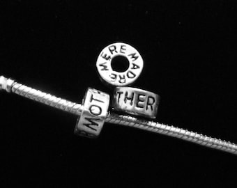 MOTHER RING Pandora Style Charm
