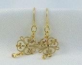 Earrings- Tinkerbell