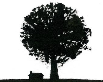 Oak - Archival Print