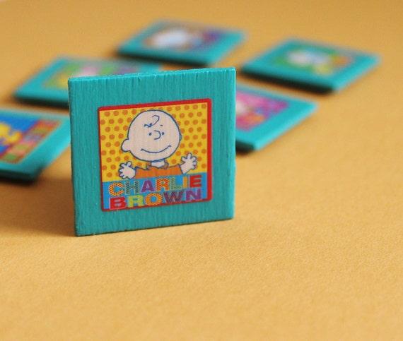 Peanuts Gang Magnet Set