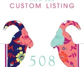 Custom Listing for Ingrid -- Lilla Vän