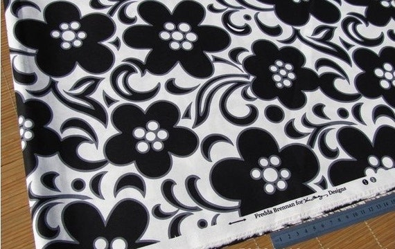 1/2  Meter Each - Vera Bradley Fabric Remanent - Night And Day Set/19.5 Inches X 59 Inches X 2 pc
