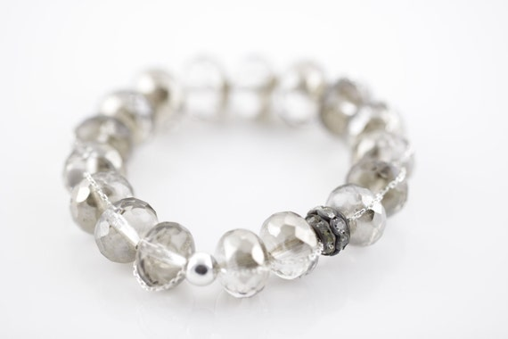 Emmie - Spring 2012 Silver Crystal - Free Shipping