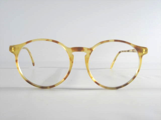 Lafont Pantheon Eyeglass Frames : Vintage Demi-Blond Pantheon Glasses