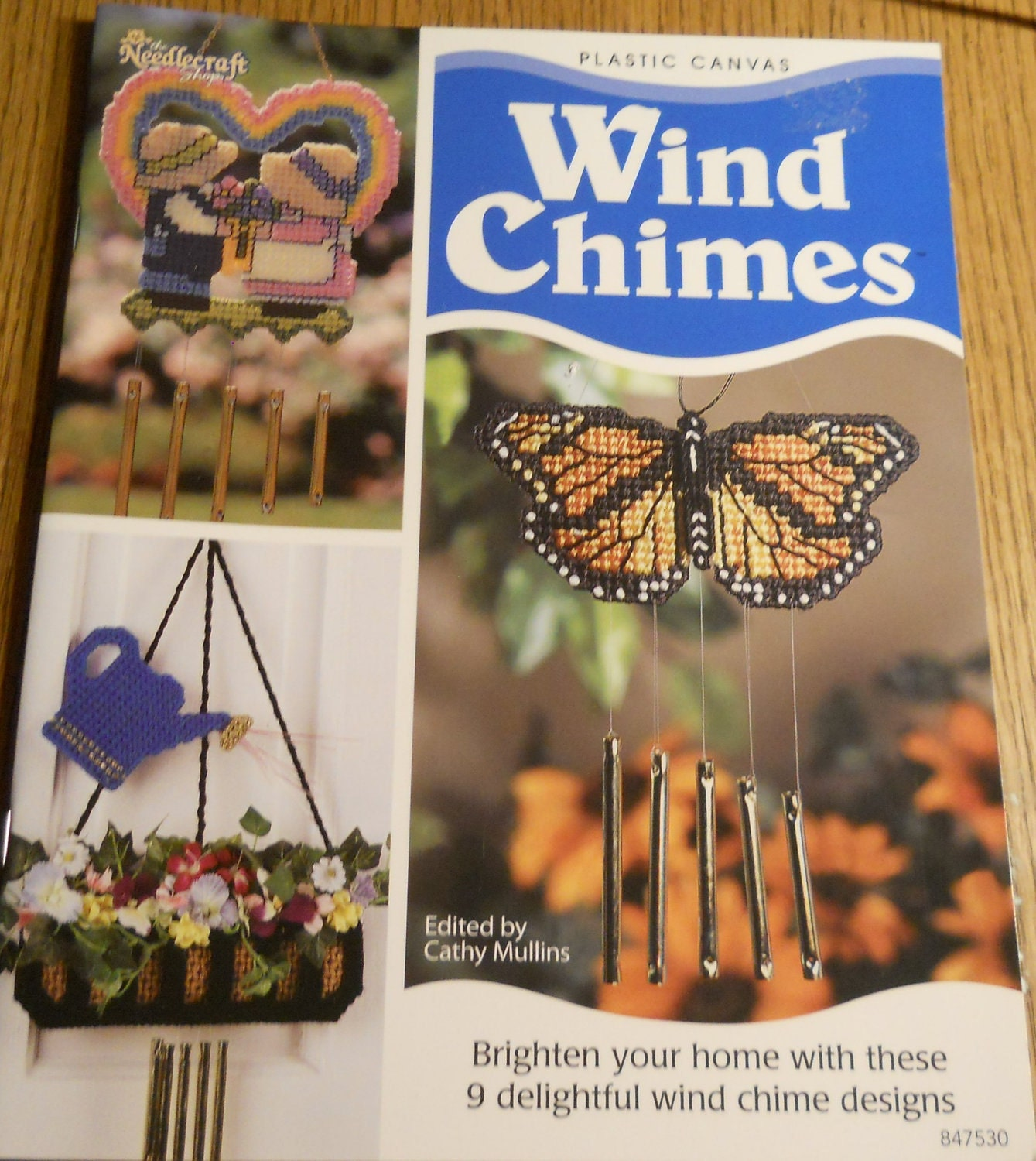 Wind Chimes Plastic Canvas Pattern Book By Pattyscrochetplace