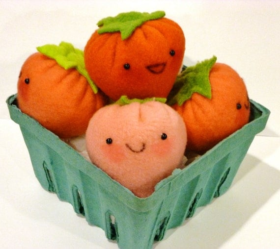 Adopt a Strawberry Plush - Profits to the CCFA