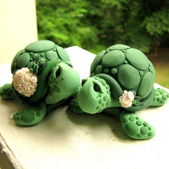 turtle wedding cake toppers turtle wedding cake topper 21320