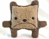 Sad Square Bear