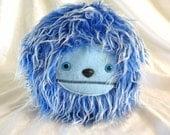 Cute Blue Fur Ball
