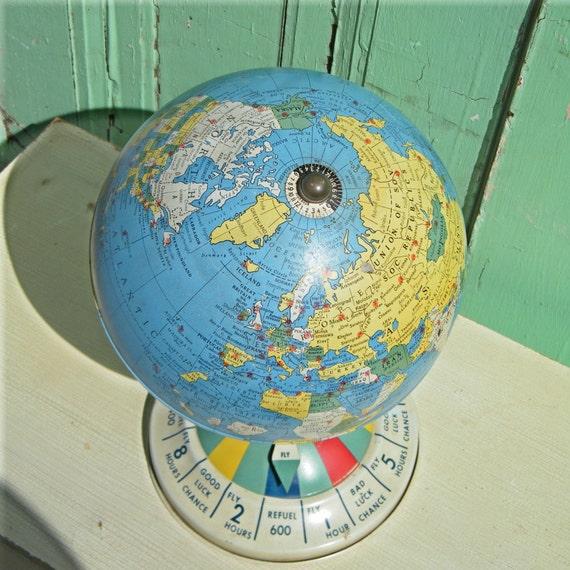 Globe Vintage Repogle Tin Air Race