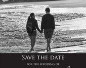 Save the Date Wedding Announcement  Choose any  Color  You PRINT