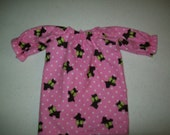 """Baby Alive  And Waldorf Doll Clothes Adorable Nightgown 12"""" Or 15"""""""
