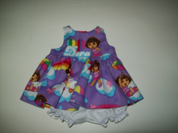 """Baby Alive and Waldorf Doll Clothes Adorable Dress Sizes 10"""" 12"""" or 15"""""""