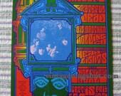 Grateful Dead Original 1967 Concert Card Handbill  BG 81 Janis Joplin