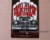 Led Zeppelin Concert Postcard BG 155 Orig Psychedelic San Francisco 1969