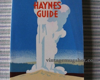 Yellowstone National Park Haynes Guide 1940's with Map Photos Maps