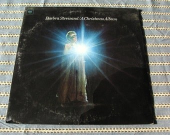 Barbara Streisand  SEALED LP A Christmas Album Holiday Record Album  33 1/3