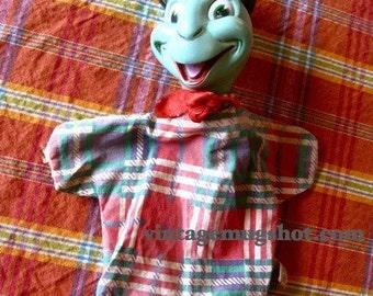 Vintage Jiminy Crickett Disney Puppet Walt Disney Productions