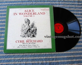 Alice In Wonderland VINYL lp record V. 6 RIVERSIDE