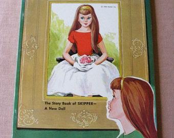 Skipper BARBIE DOLL Mattel  Promo Book 1st ED 1964 Exc