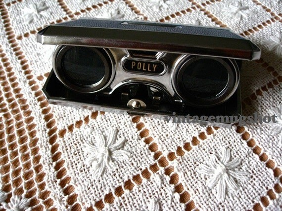 Poly Vintage 50s or early Sixties TOY Binoculars Made in Japan