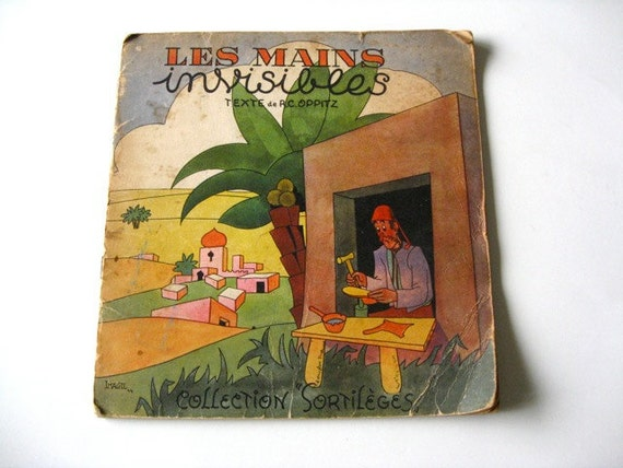 FRENCH BOOK 1940s Les Cain Invisibles Collection Sorstileges