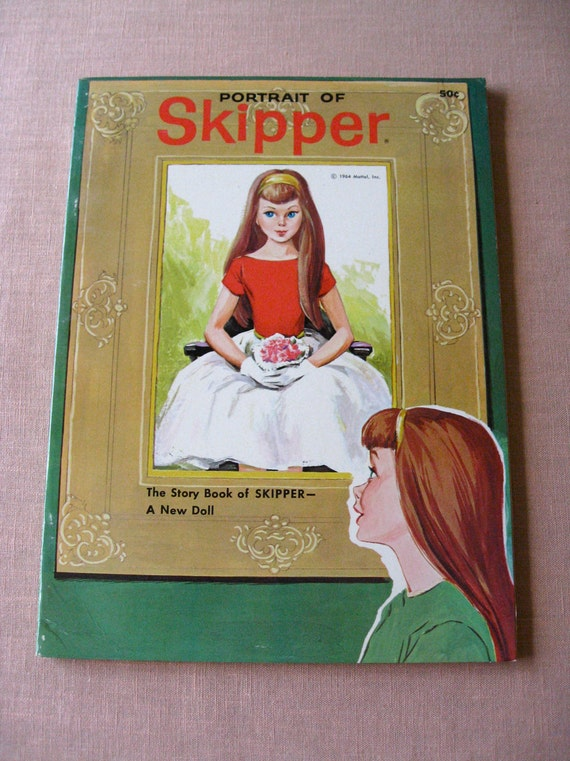 Skipper BARBIE DOLL Mattel  Promo Book 1st ED 1964 Exc