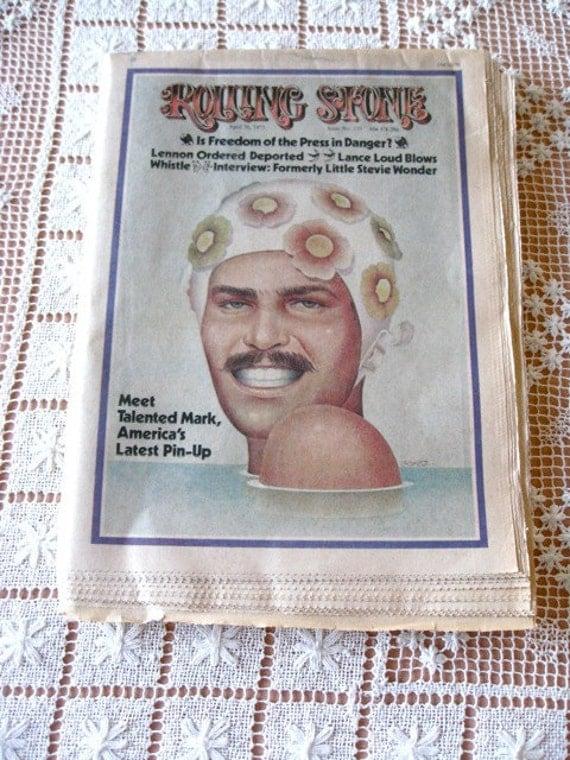 Original Rolling Stone Magazine Issue 133 Olympics Mark Spitz  BYRDS Grateful Dead