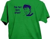 Pon Farr Here Often Star Trek Spock shirt