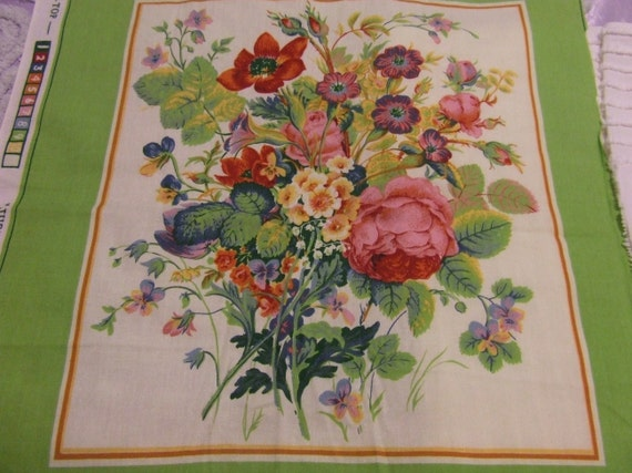 CyRuS CLaRk  JubiLee FLoRaL FaBRiC PaNeL