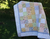 Etsy Bitsy Baby Girl Quilt-JUST REDUCED