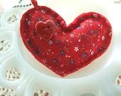 Plushie Heart Have A Heart Key Chain Charm