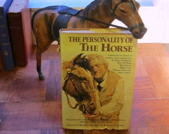 The Personality of the Horse Vintage Hardcover Book