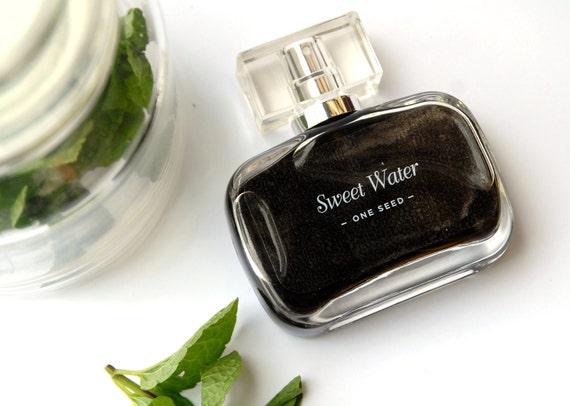 CLEARANCE SALE 60% OFF - One Seed Sweet Water natural perfume 50ml / 1.7 fl oz
