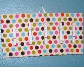 Polka Dot Memo Board
