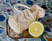 KNITTING PATTERN PDF file for Owl Soap Cozy-soap sachet-soap sweater