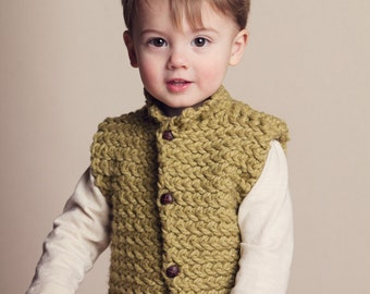 Knitting Pattern Vest Bulky Yarn : ...blissful patterns and knits by AddiesmaDesigns on Etsy