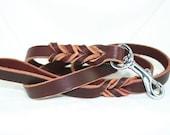6 foot Latigo Leather Leash