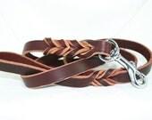 Latigo Leather Leash - 5 foot model