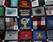 Quality Custom Tshirt Quilts created from your tshirts - Deposit