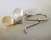 Citrine Sparkle Earrings